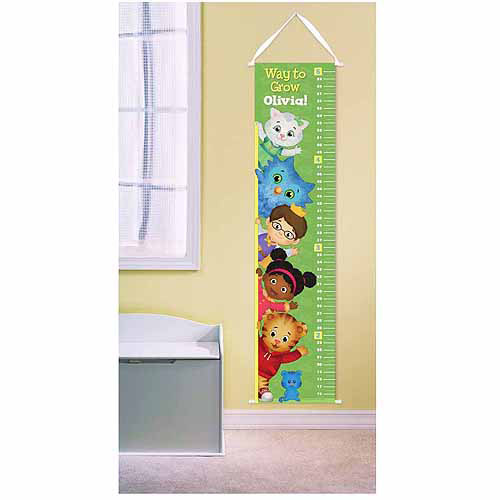 Personalized Daniel Tiger's Neighborhood Growth Chart