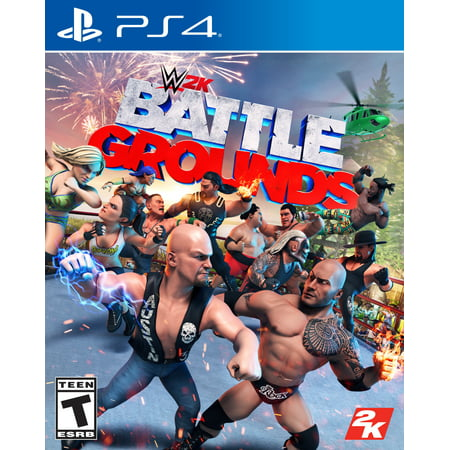 WWE 2K Battlegrounds,2K, PlayStation 4, 710425575969