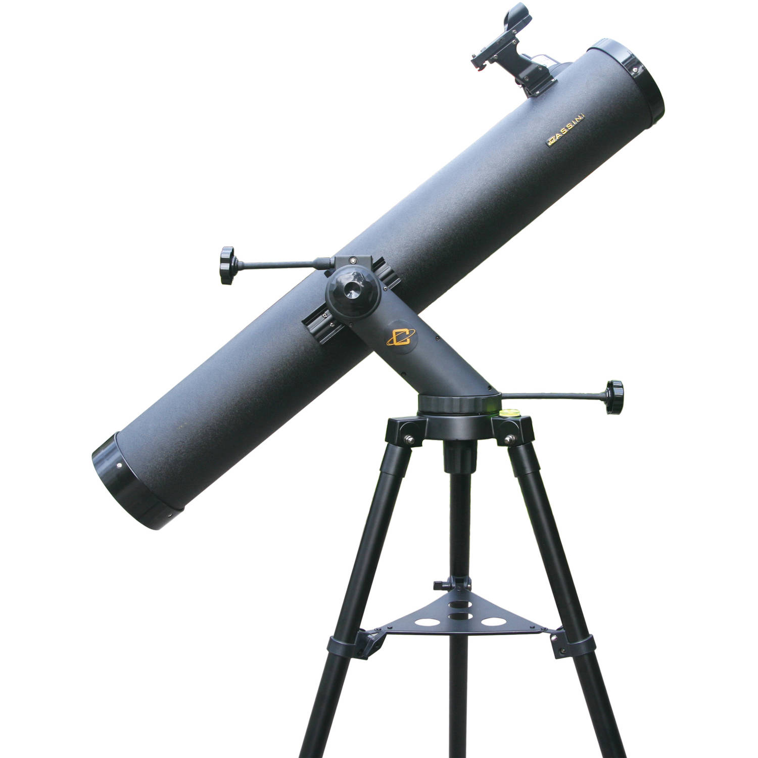 Cassini 1000mm x 120mm Tracker Series Reflector Telescope, Electronic Focus, Black