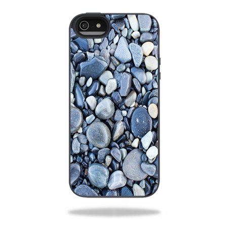 Mightyskins Protective Vinyl Skin Decal Cover for Belkin Grip Candy Sheer iPhone 5-5S Case wrap sticker skins Rocks