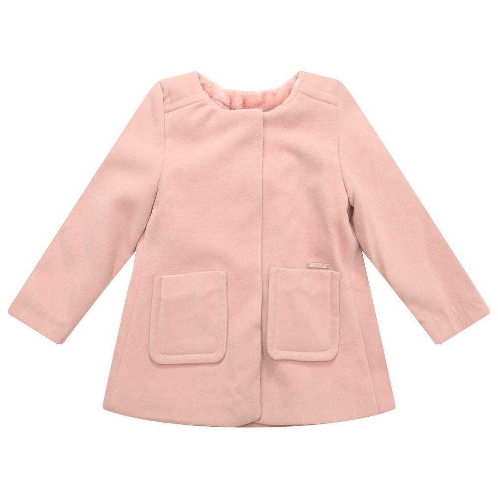 Richie House Little Girls Pink Pockets Sweet Jacket 6