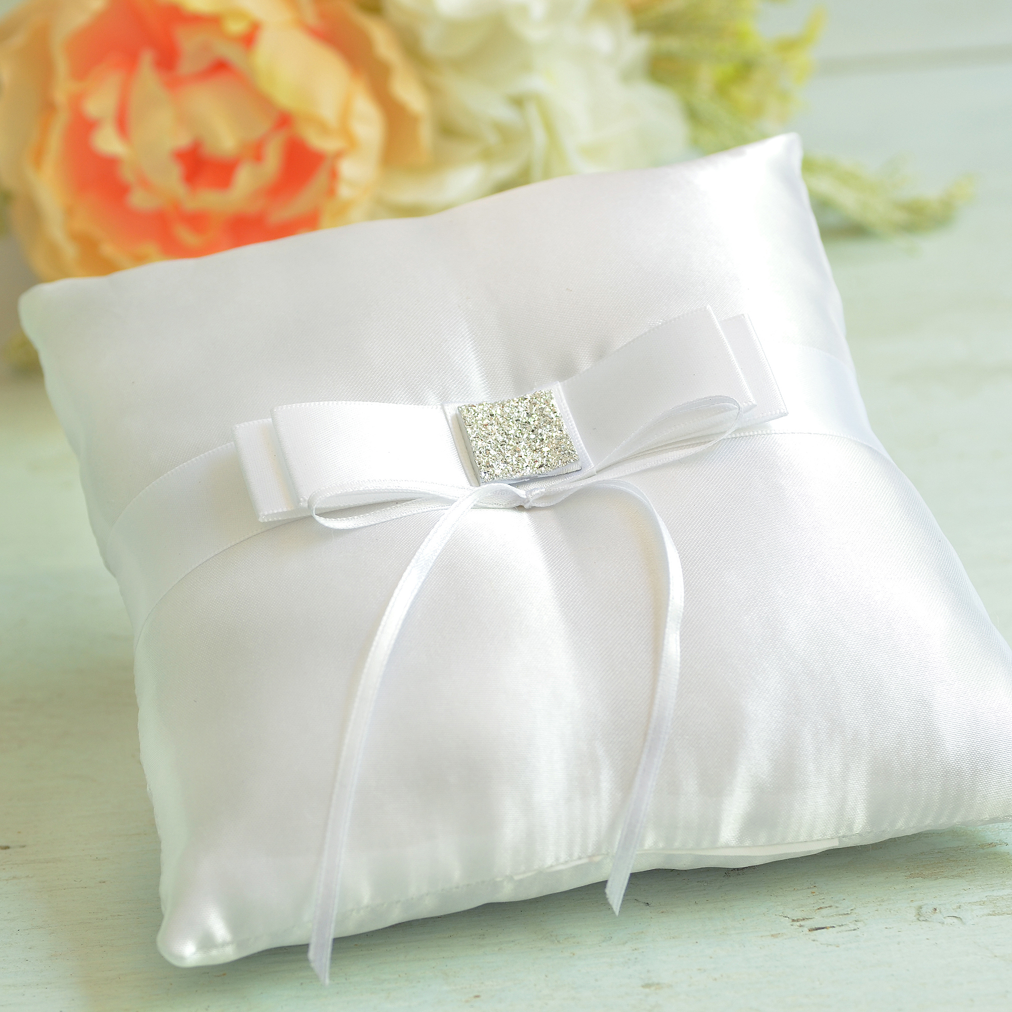Gartner Studios Bow Ring Pillow