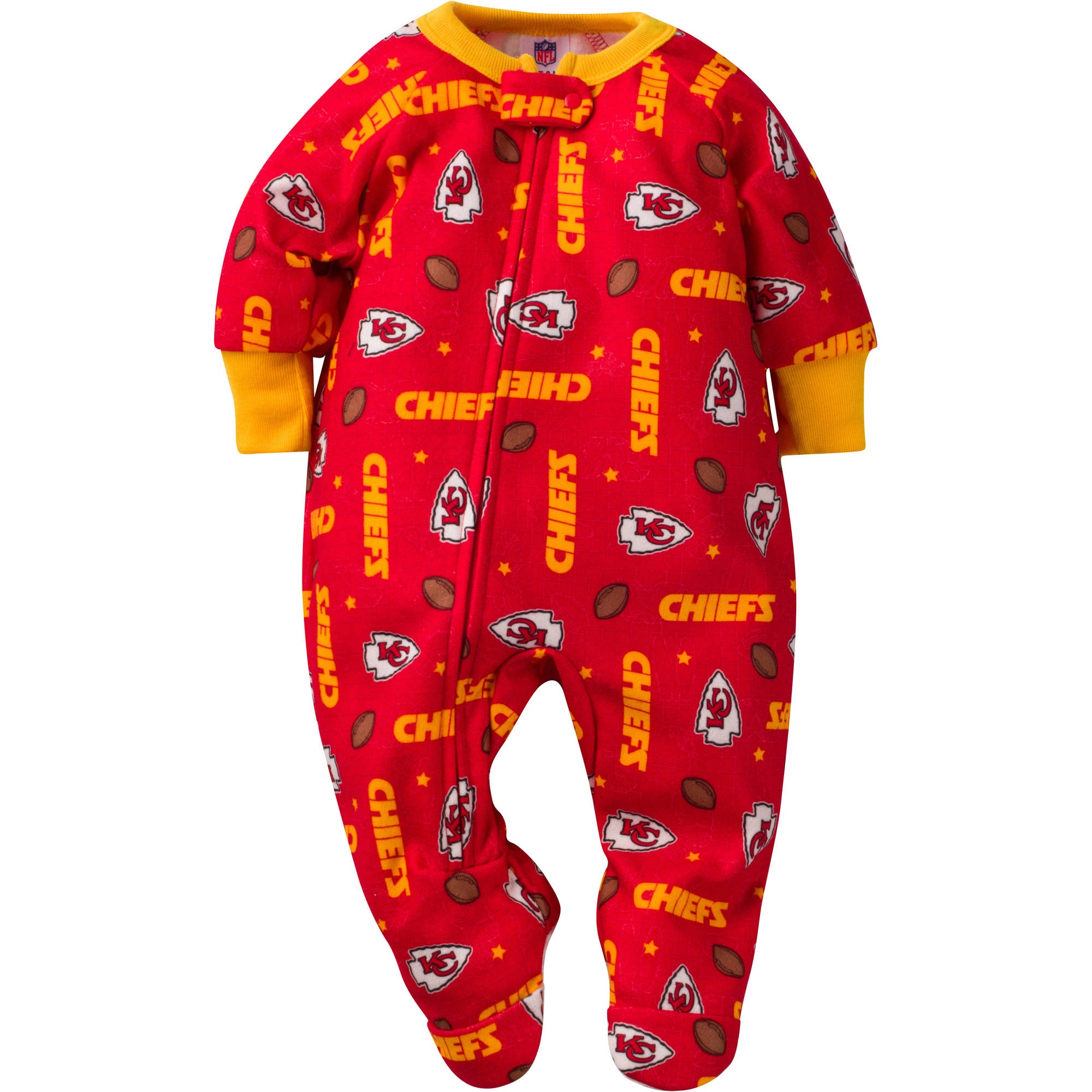 NFL Kansas City Chiefs Baby Boys Team Blanket Sleeper