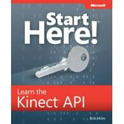 Start Here! Learn the Kinect API - eBook