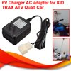 6V Wall Charger AC Adapter Power Supply For KID TRAX ATV Quad Ride On Car Battery Powered Hot