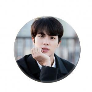 Fancyleo Kpop BTS Bangtan Boys Round Badge Brooch Chest Pin Button SUGA JIN V JIMIN