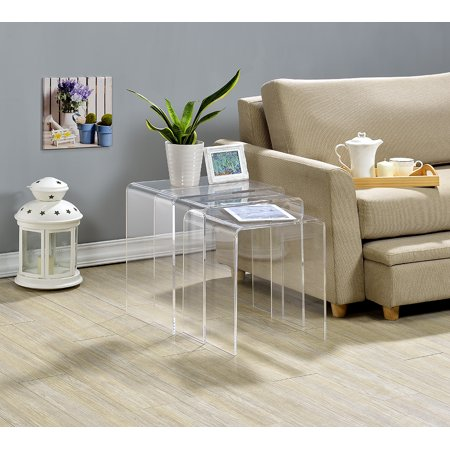 Acrylic Nesting Tables -Set of (Fox Hills Mall Stores)