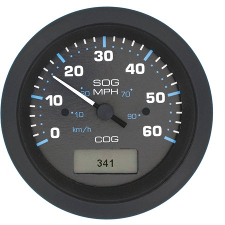 SeaStar Solutions Eclipse GPS Speedometer, 60 MPH