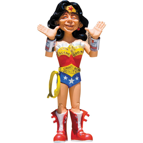 DC Comics MAD Just-Us League Series 2 Alfred as Wonder Woman Action Figure
