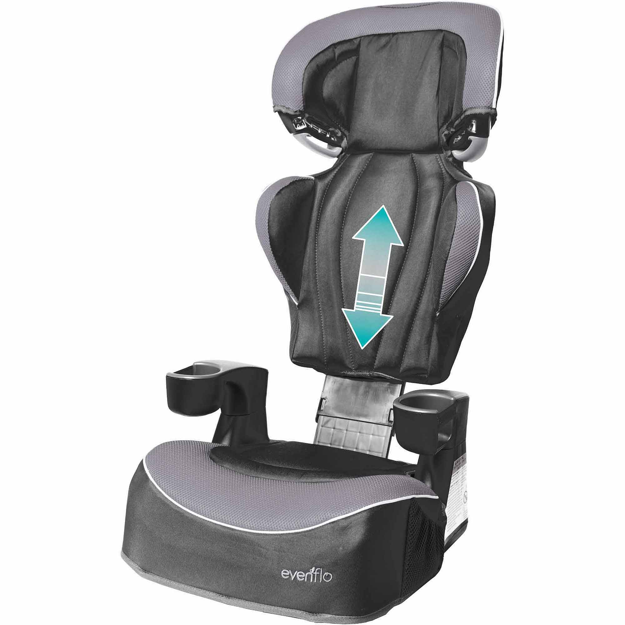 evenflo big kid dlx high back booster car seat jonah ebay. Black Bedroom Furniture Sets. Home Design Ideas