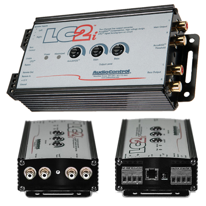 AudioControl 2 Channel Line Output Converter 400Watts RMS