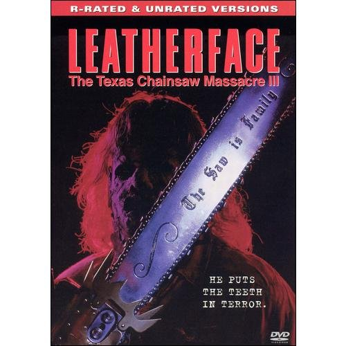 LEATHERFACE-TEXAS CHAINSAW MASSACRE 3 (DVD)