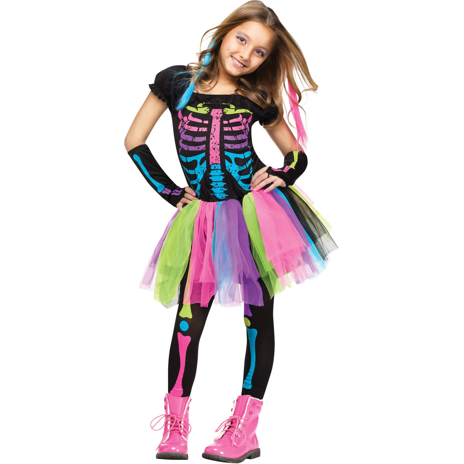 funky punky bones child halloween costume walmartcom