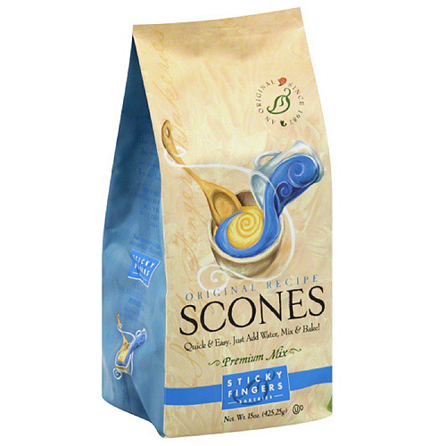 Sticky Fingers Bakeries Original Recipe Scones Mix, 15 oz, (Pack of 6)