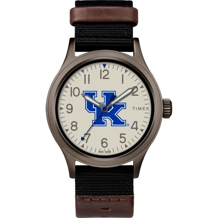 Timex - NCAA Tribute Collection Clutch Men's Watch, University of Kentucky Wildcats Ncaa Kentucky Wildcats Team Glass
