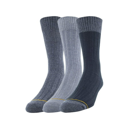 Men's Cotton Rib Dress Casual Socks, (Shadow Rib Socks)