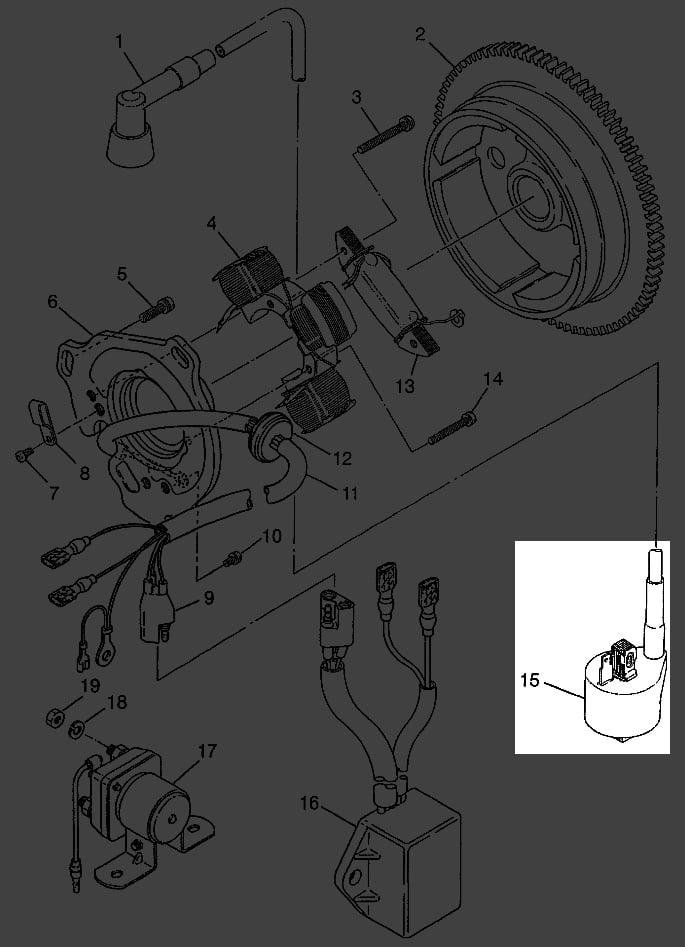 1994 Polari 400 Wiring Diagram