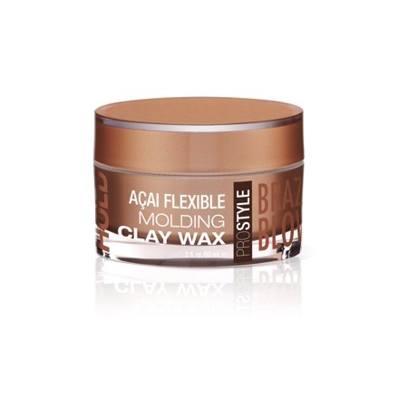 Brazilian Blowout Acai Flexible Molding Clay Hair Wax 2 Ounce 60