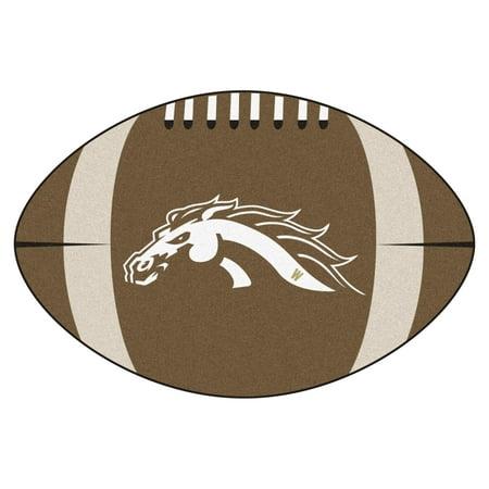 """Western Michigan Football Rug 20.5""""x32.5"""""""