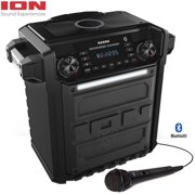 Ion Audio Pathfinder Charger, Bluetooth Portable Speaker with Wireless Qi Charging� (Renewed)