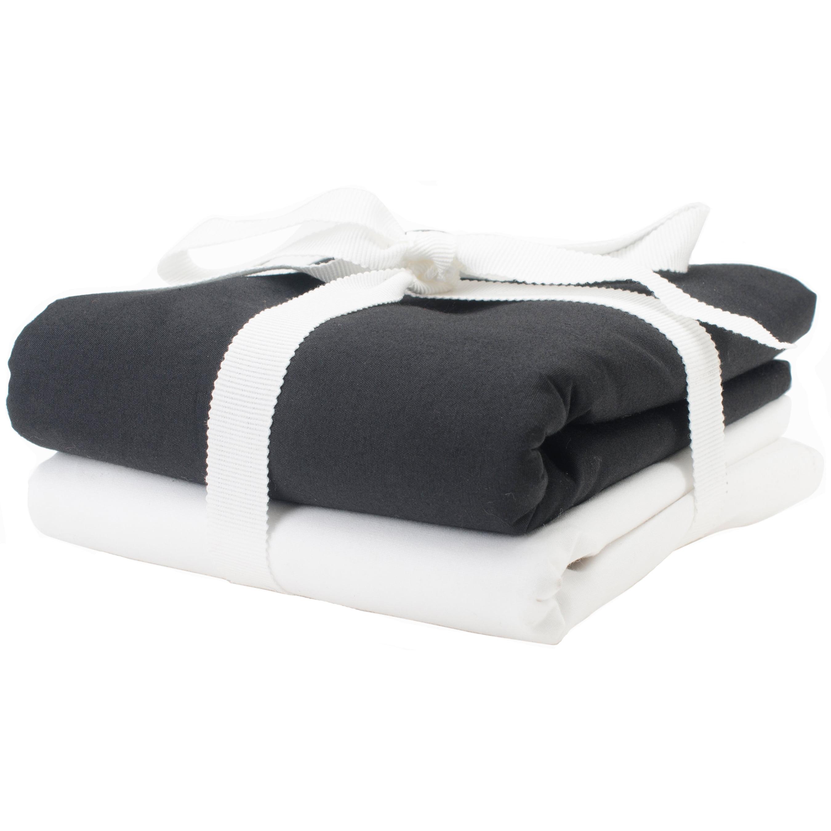 "Broadcloth Basic Blend Fabric 45"" Wide 3Yd Cut-Black - image 1 de 1"