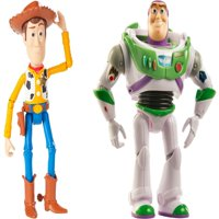 Toy Story 4 7 inch Basic Woody and Buzz Figures