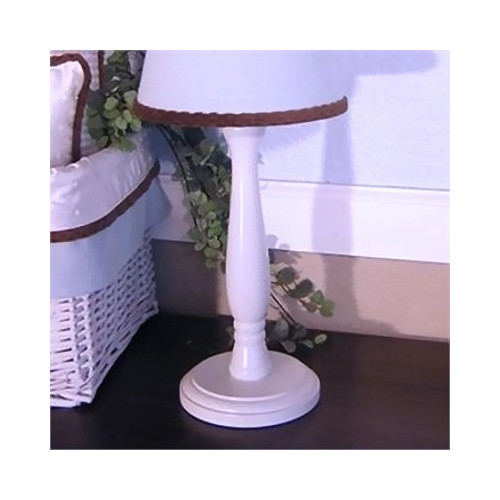 Brandee Danielle Blue Chocolate 15'' Table Lamp