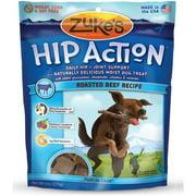 Zukes Hip Action Natural Dog Treats, 6 oz, 12-Pack