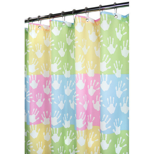 WATERSHED 72X72 WORLD HANDS SHOWER CURTAIN