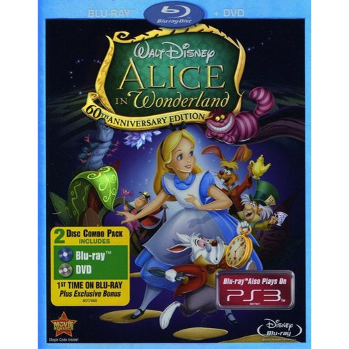 Alice In Wonderland - 60th Anniversary Edition (Blu-ray   DVD))