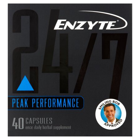 Enzyte 24/7 Anytime Supplément naturel Male Enhancement, 40 Count