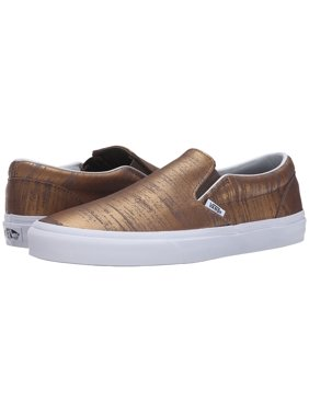 6280306618dbc6 Product Image Vans Men Brushed Metallic Classic Slip On Shoes