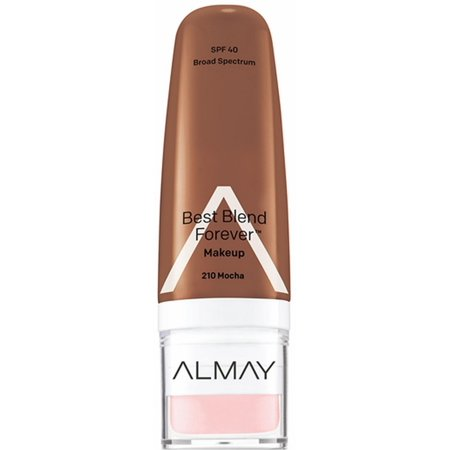 4 Pack - Almay Best Blend Forever Makeup, Mocha, 1 (Best Way To Apply Makeup Forever Hd)