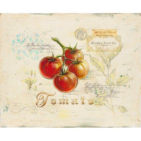 Tuscany Tomato (Tuscan Tomato Poster Print by Angela Staehling )