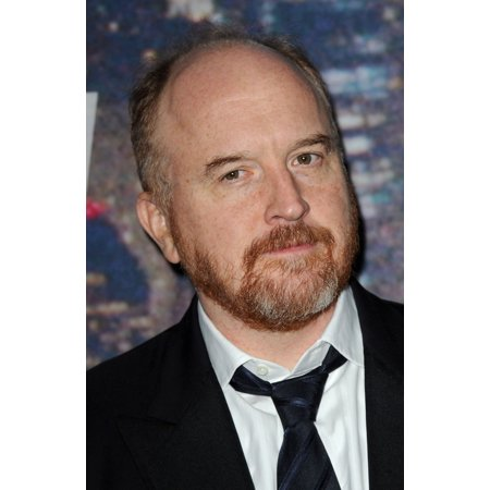 Louis CK At Arrivals For Saturday Night Live Snl 40Th Anniversary - Part 3 Canvas Art -  (16 x 20) - Saturday Night Fever Suit