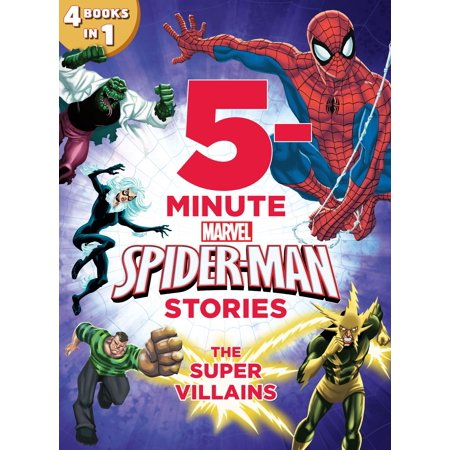 5-Minute Spider-Man Stories: The Super Villains -