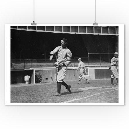 Walt Dickson, NY Giants, Baseball Photo (9x12 Art Print, Wall Decor Travel Poster) - Ny Giants Decor