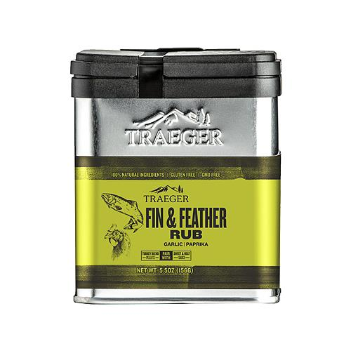 Traeger Pellet Grills SPC176 BBQ Rub, Fin & Feather, 8.25-oz.