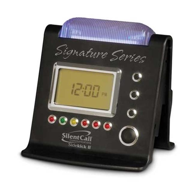 Silent Call SK2-SS Signature Series Sidekick II Strobe Clock Receiver by Silent Call