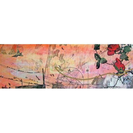 Marmont Hill Rose Light By Tracy Silva Barbosa Painting Print On Wrapped Canvas