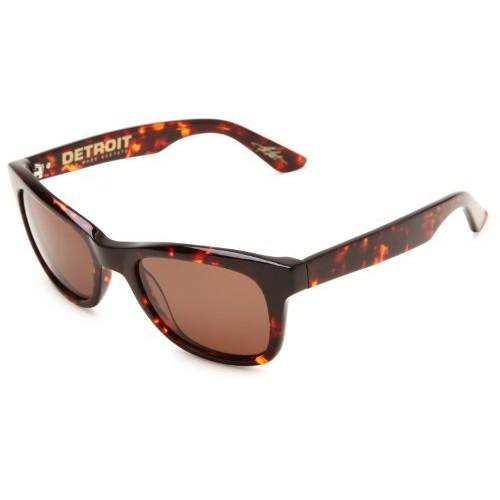 Electric Visual Detroit Square Rectangular Sunglasses []