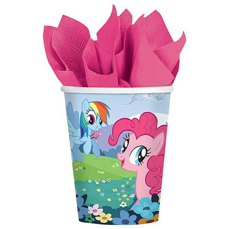 My Little Pony Friendship Magic 9 oz. Paper Cups (8)