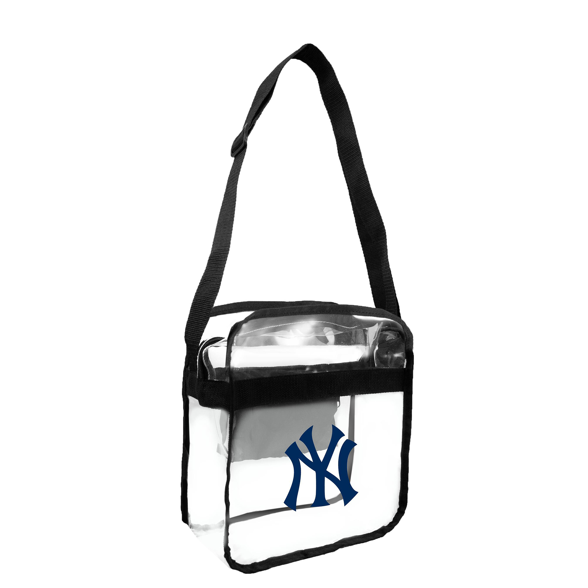 Little Earth - MLB Clear Carryall Cross Body Bag, New York Yankees