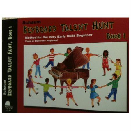Alfred 44-0120 Keyboard Talent Hunt- Book 1- Pre-Primer - Music Book