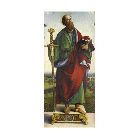 Saint Paul Print Wall Art By Macrino d'Alba - Saint Paul College Card