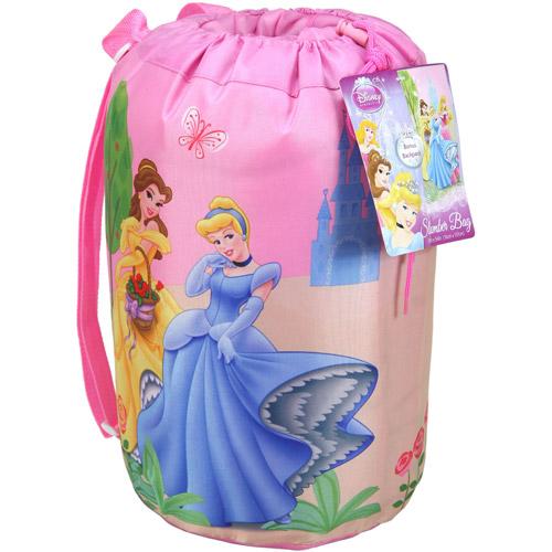 Princess Indoor Slumber Bag in printed Drawstring Bag