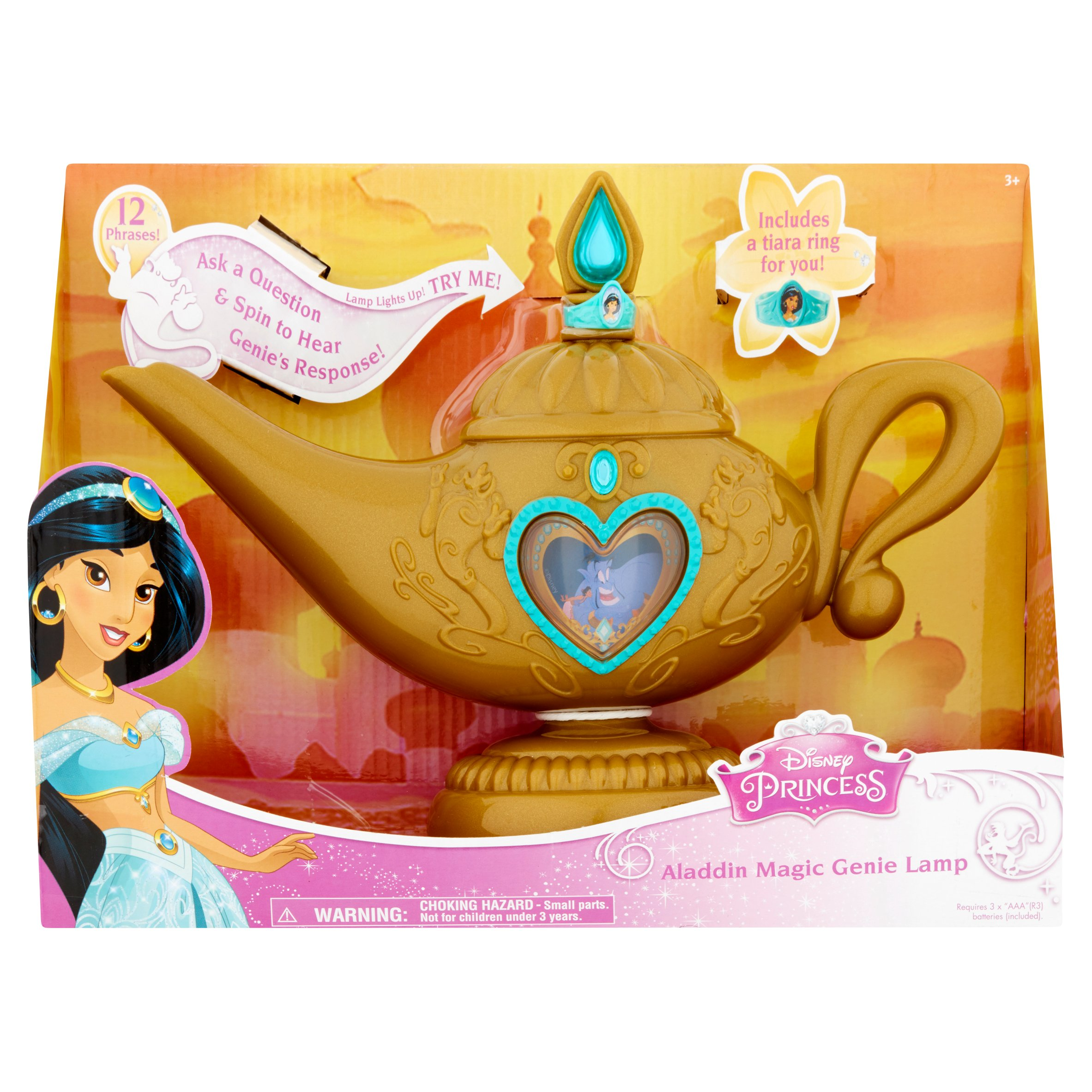 Disney Princess Aladdin Magic Genie Lamp 3+ by Jakks Pacific, Inc.