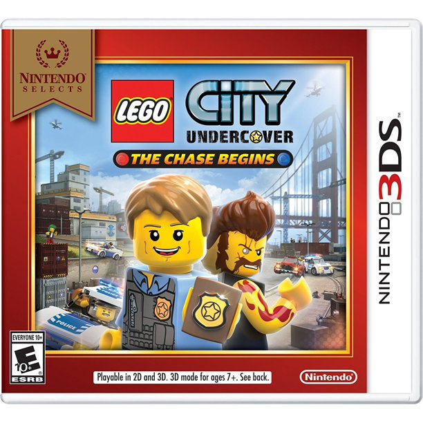 Nintendo Slcts Lego City Undercover 3d