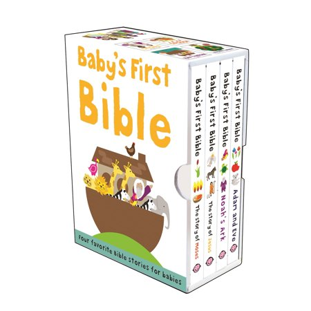 Baby's First Bible Boxed Set : The Story of Jesus, Noah's Ark, the Story of Moses, Adam and