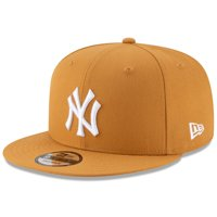 New York Yankees New Era Basic 9FIFTY Adjustable Hat - Tan - OSFA